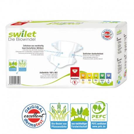 30 Couches Bio écologiques Swilet Taille 1 En Promotion Sur Promo