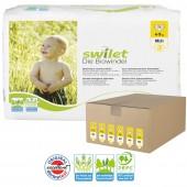 Maxi Giga pack 168 Couches bio écologiques de Swilet sur auchan